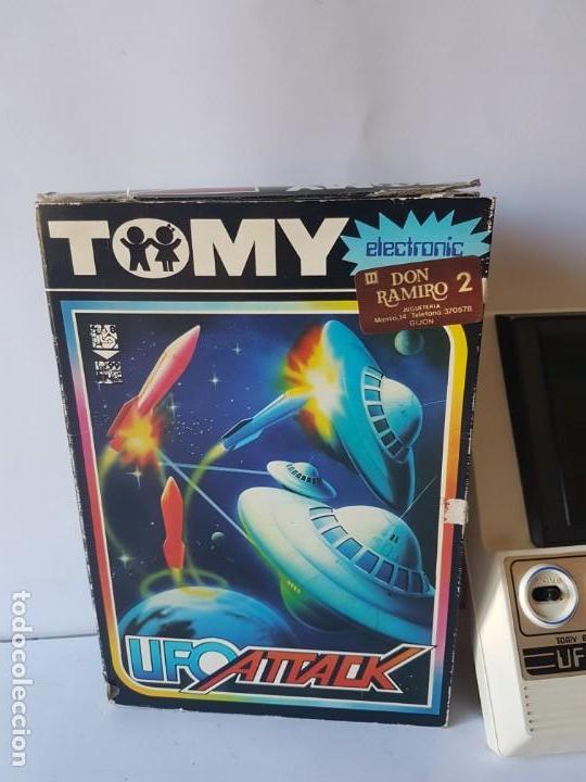 Videojuegos y Consolas: CONSOLA UFO ATTACK / TOMY ECLECTRONICS / CON CAJA Y FUNCIONANDO. - Foto 4 - 166626150