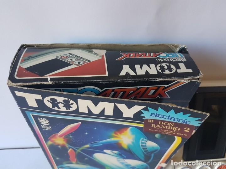 Videojuegos y Consolas: CONSOLA UFO ATTACK / TOMY ECLECTRONICS / CON CAJA Y FUNCIONANDO. - Foto 6 - 166626150