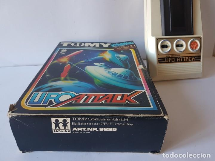 Videojuegos y Consolas: CONSOLA UFO ATTACK / TOMY ECLECTRONICS / CON CAJA Y FUNCIONANDO. - Foto 10 - 166626150