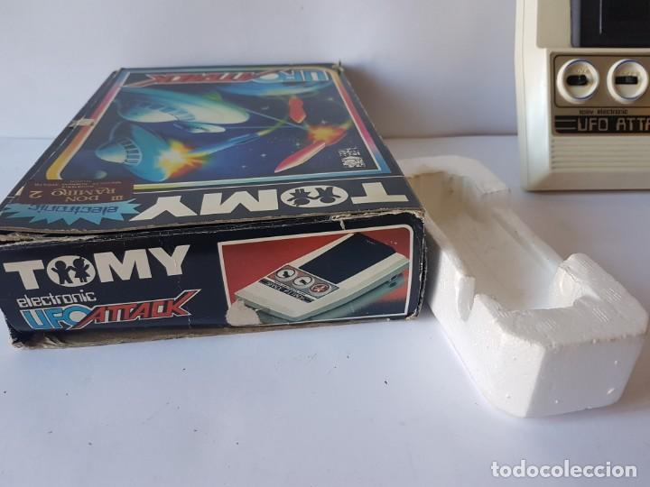 Videojuegos y Consolas: CONSOLA UFO ATTACK / TOMY ECLECTRONICS / CON CAJA Y FUNCIONANDO. - Foto 11 - 166626150