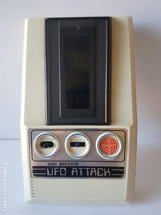 Videojuegos y Consolas: CONSOLA UFO ATTACK / TOMY ECLECTRONICS / CON CAJA Y FUNCIONANDO. - Foto 12 - 166626150