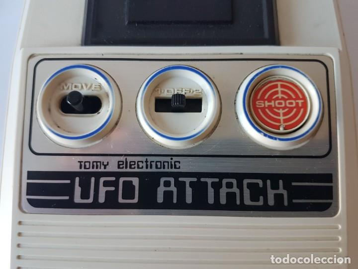 Videojuegos y Consolas: CONSOLA UFO ATTACK / TOMY ECLECTRONICS / CON CAJA Y FUNCIONANDO. - Foto 13 - 166626150