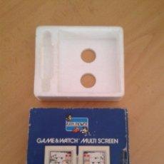 Videojuegos y Consolas: NINTENDO GAME&WATCH MULTISCREEN RAIN SHOWER LP-57 CAJA COMPLETA BOX+FOAM VER R9074. Lote 166875540