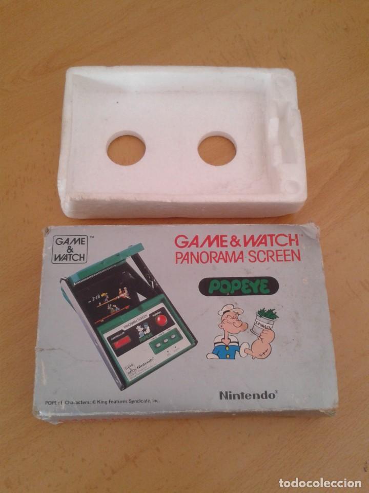 NINTENDO GAME&WATCH PANORAMA POPEYE PG-92 CAJA COMPLETA BOX&FOAM VER!!! R9078 (Juguetes - Videojuegos y Consolas - Otros descatalogados)