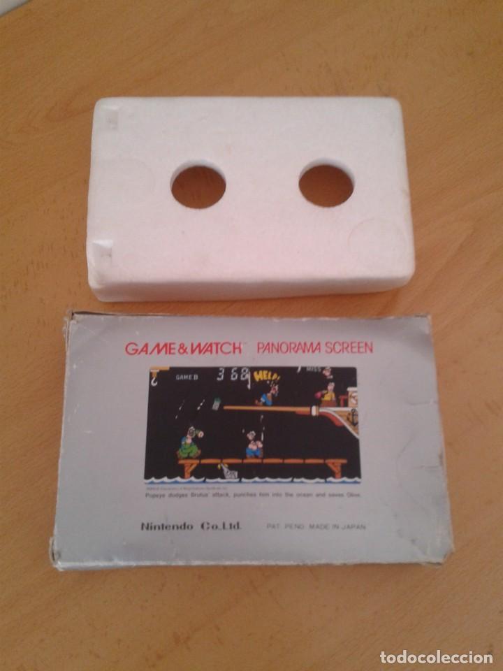 Videojuegos y Consolas: NINTENDO GAME&WATCH PANORAMA POPEYE PG-92 CAJA COMPLETA BOX&FOAM VER!!! R9078 - Foto 2 - 166877604