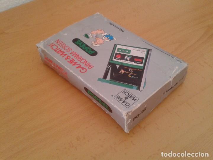 Videojuegos y Consolas: NINTENDO GAME&WATCH PANORAMA POPEYE PG-92 CAJA COMPLETA BOX&FOAM VER!!! R9078 - Foto 5 - 166877604
