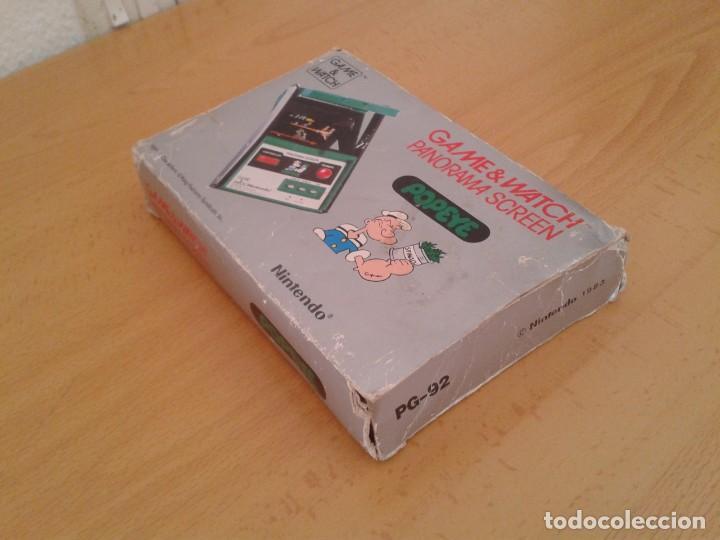 Videojuegos y Consolas: NINTENDO GAME&WATCH PANORAMA POPEYE PG-92 CAJA COMPLETA BOX&FOAM VER!!! R9078 - Foto 6 - 166877604