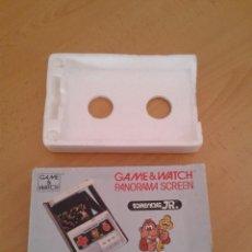 Videojuegos y Consolas: NINTENDO GAME&WATCH PANORAMA DONKEY KONG JR. CJ-93 CAJA COMPLETA BOX&FOAM VER!!! R9079. Lote 166878076