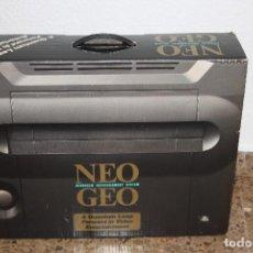 Videojuegos y Consolas: CAJA NEO GEO AES JAPONESA ORIGINAL, MANDO NEW STYLE SNK Y ACCESORIOS. Lote 166976336