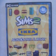 Videojuegos y Consolas: PC CD-ROM , EA : LOS SIMS 2 - IKEA , ACCESORIOS PARA EL HOGAR. Lote 167472936