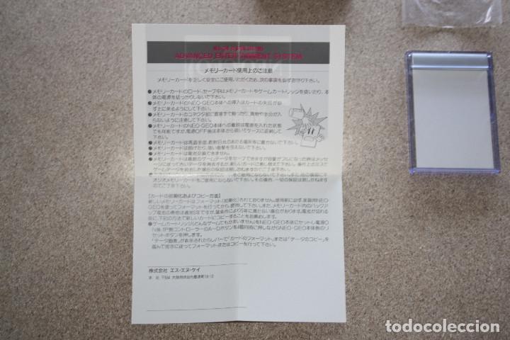 Videojuegos y Consolas: TARJETA MEMORY CARD * SNK * NEO IC8 PARA NEO GEO AES - Foto 4 - 167693232