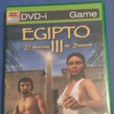 Videojuegos y Consolas: DVD-I EGIPTO III EL DESTINO DE RAMSES - ENVIO GRATIS. Lote 167764424