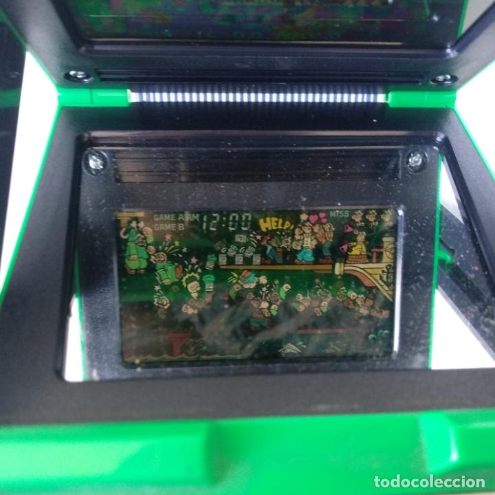 Videojuegos y Consolas: Popeye panorama screen game & watch nintendo g&w game&watch PG-92 - Foto 7 - 168357240