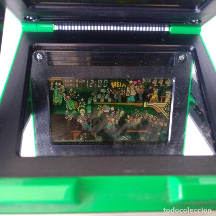 Videojuegos y Consolas: Popeye panorama screen game & watch nintendo g&w game&watch PG-92 - Foto 9 - 168357240