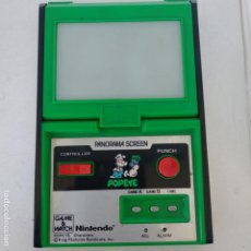 Videojuegos y Consolas: POPEYE PANORAMA SCREEN GAME & WATCH NINTENDO G&W GAME&WATCH PG-92. Lote 168357240