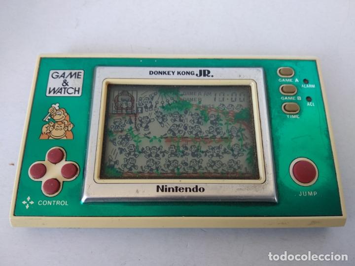 Videojuegos y Consolas: NINTENDO GAME&WATCH WIDESCREEN DONKEY KONG JR. DJ-101 g&w Game watch - Foto 2 - 168357560