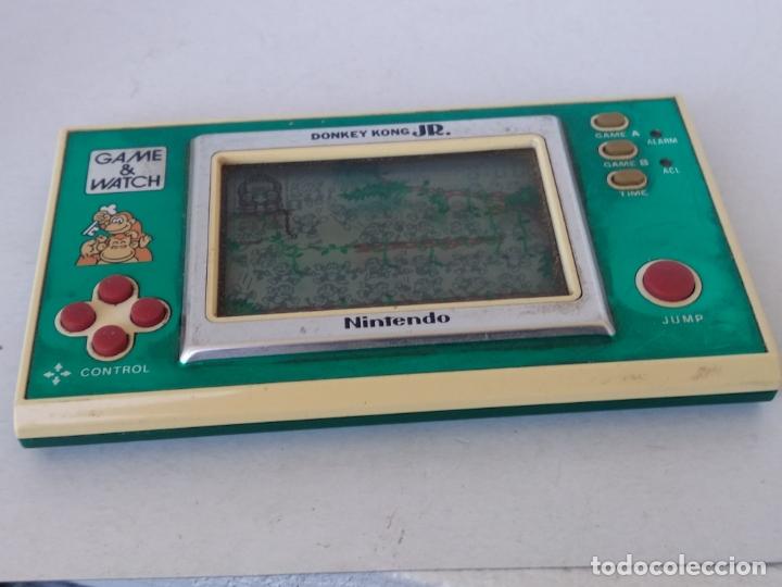 Videojuegos y Consolas: NINTENDO GAME&WATCH WIDESCREEN DONKEY KONG JR. DJ-101 g&w Game watch - Foto 3 - 168357560