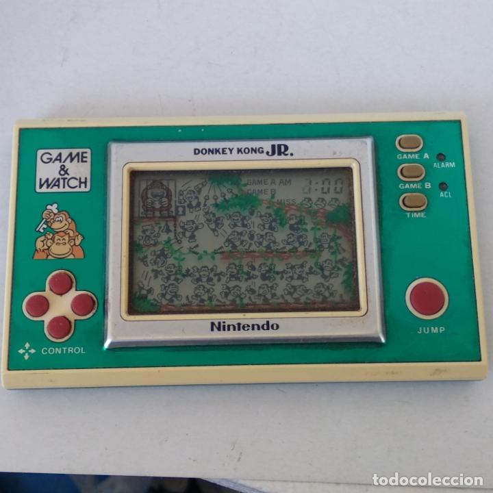 Videojuegos y Consolas: NINTENDO GAME&WATCH WIDESCREEN DONKEY KONG JR. DJ-101 g&w Game watch - Foto 4 - 168357560