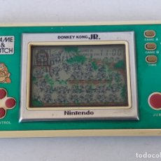 Videojuegos y Consolas: NINTENDO GAME&WATCH WIDESCREEN DONKEY KONG JR. DJ-101 G&W GAME WATCH. Lote 168357560