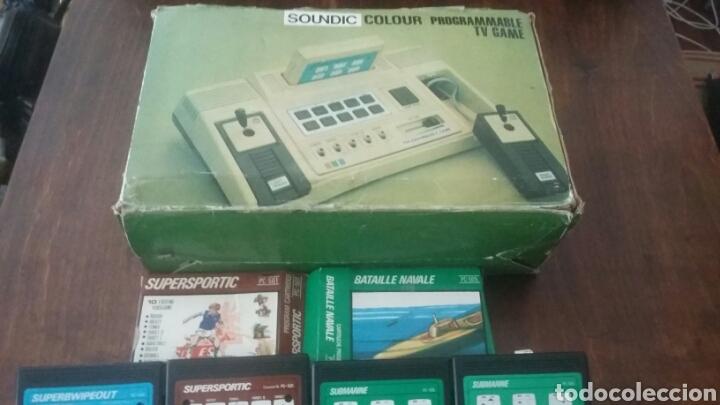 SOUNDIC TV GAME PROGRAMMABLE Y JUEGOS LEER (Juguetes - Videojuegos y Consolas - Otros descatalogados)
