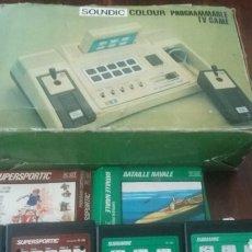 Videojuegos y Consolas: SOUNDIC TV GAME PROGRAMMABLE Y JUEGOS LEER. Lote 168573017
