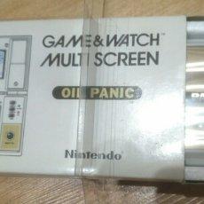 Videojuegos y Consolas: GAME WATCH NINTENDO OIL PANIC. Lote 169080145