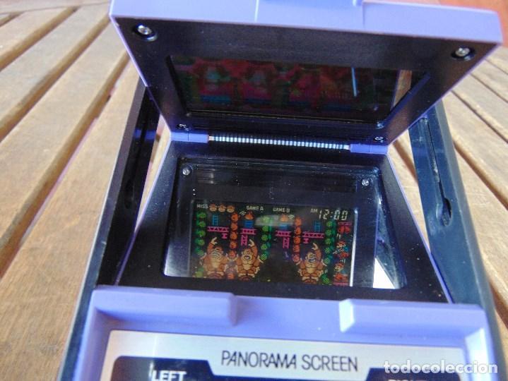 Videojuegos y Consolas: NINTENDO GAME & WATCH DONKEY KONG CIRCUS PANORAMA SCREEN COLOR 1984 FALTA TAPA PILAS - Foto 9 - 169288040