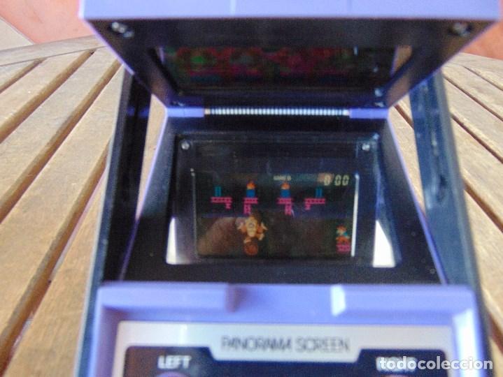 Videojuegos y Consolas: NINTENDO GAME & WATCH DONKEY KONG CIRCUS PANORAMA SCREEN COLOR 1984 FALTA TAPA PILAS - Foto 10 - 169288040