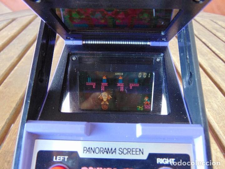 Videojuegos y Consolas: NINTENDO GAME & WATCH DONKEY KONG CIRCUS PANORAMA SCREEN COLOR 1984 FALTA TAPA PILAS - Foto 12 - 169288040