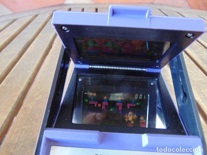 Videojuegos y Consolas: NINTENDO GAME & WATCH DONKEY KONG CIRCUS PANORAMA SCREEN COLOR 1984 FALTA TAPA PILAS - Foto 14 - 169288040