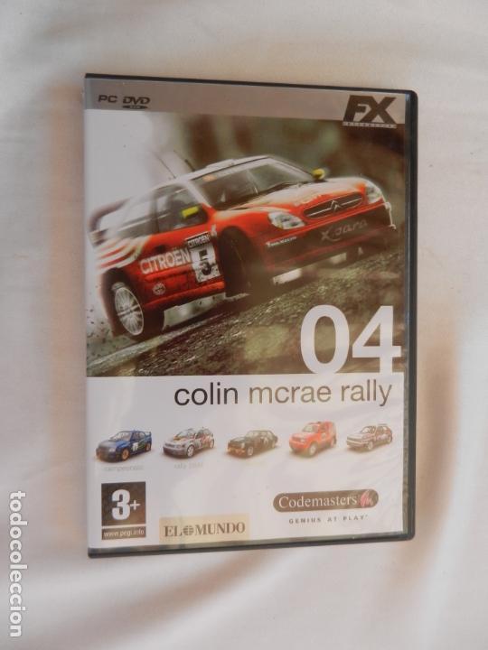 COLIN MCRAE RALLY 04 PC , EL REY DE LOS JUEGO DE RALLY (Juguetes - Videojuegos y Consolas - Otros descatalogados)