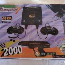 Videojuegos y Consolas: JUEGO TERMINATOR 7, NEW 2000. COMPLETO.. Lote 169676156