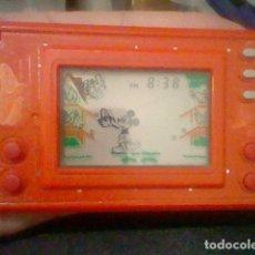 Videojuegos y Consolas: MICKEY NINTENDO 1981 GAME & WATCH FUNCIONANDO SIN METAL FRONTAL MC 25. Lote 169779320