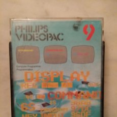 Videojuegos y Consolas: JUEGO VIDEOPAC 9 COMPUTER PROGRAMMER. Lote 169835625