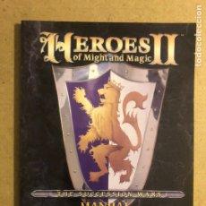 Videojuegos y Consolas: LIBRETO MANUAL JUEGO HEROES OF MIGHT AND MAGIC II, THE SUCCESION WARS. COMO NUEVO. 120 PÁGINAS.. Lote 169838893
