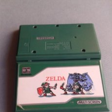 Videojuegos y Consolas: NINTENDO GAME&WATCH MULTISCREEN ZELDA ZL-65 NEAR MINT ORIGINAL PROTECTOR SLEEVE! R9241. Lote 169964732