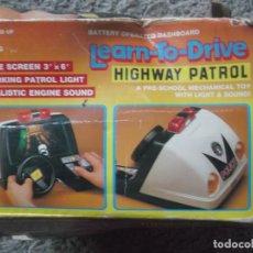 Videojuegos y Consolas: LEARN TO DRIVE-HIGHWAY PATROL. Lote 221794520