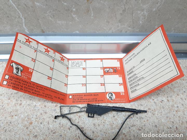 Videojuegos y Consolas: LOTE DE CARNET DE INDUSTRIAS GEYPER S.A. PARA TI UN GEYPERMAN Y AMETRALLADORA ( PERFECTOS ) - Foto 3 - 171367484