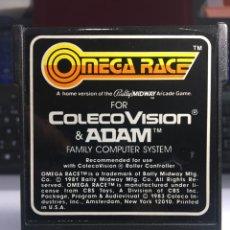 Videojuegos y Consolas: JUEGO CONSOLA COLECOVISION OMEGA RACE. Lote 171523669