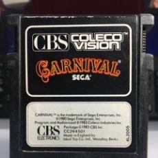 Videojuegos y Consolas: JUEGO CONSOLA CBS CARNIVAL. Lote 171523874