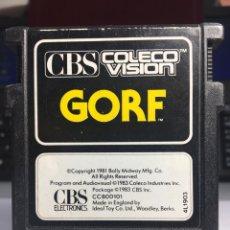 Videojuegos y Consolas: JUEGO CONSOLA CBS GORF. Lote 171523998