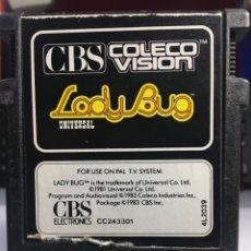Videojuegos y Consolas: JUEGO CONSOLA CBS LADY BUG. Lote 171524665