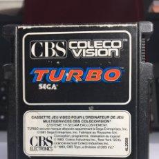 Videojuegos y Consolas: JUEGO CONSOLA CBS TURBO. Lote 171527753