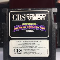 Videojuegos y Consolas: JUEGO CONSOLA CBS COSMIC AVENGER. Lote 171527955