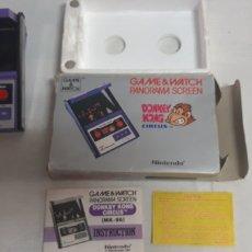 Videojuegos y Consolas: DONEY KONG GAME&WATCH PANORAMA CIRCUS. Lote 171612469