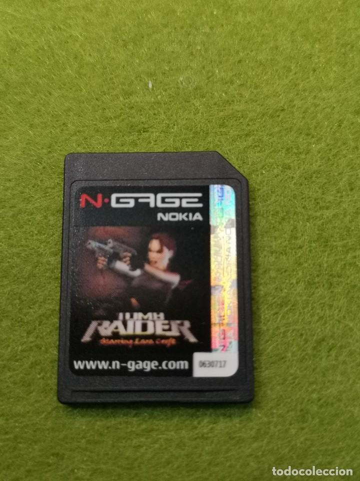 JUEGO NOKIA N-GAGE TOMB RAIDER (Juguetes - Videojuegos y Consolas - Otros descatalogados)