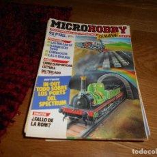 Videojuegos y Consolas: LOTE 57 DE REVISTAS MICROHOBBY MICRO HOBBY VIDEO CONSOLAS VIDEOJUEGOS AÑOS 80. Lote 171899990