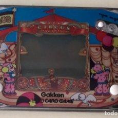 """Videojuegos y Consolas: MÁQUINA DE JUEGO """"CIRCUS LCD CARD GAME."""". Lote 172055765"""