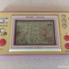 Videojuegos y Consolas: GAME & WATCH NINTENDO SNOOPY TENNIS. Lote 172176220
