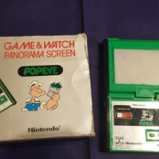 Videojuegos y Consolas: NINTENDO GAME AND WATCH PANORAMA SCREEN POPEYE 1983. Lote 180328778